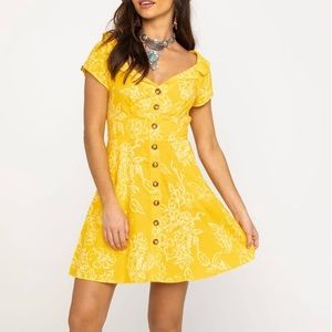 Free People | A Thing Called Love Linen Yellow 2